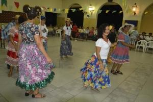 sisters dancing in garb, 2