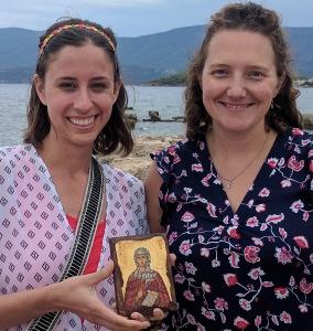Jocelyn and Jenny with Lydia photo
