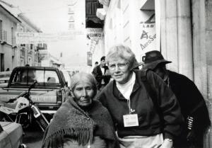 1994 Marlene Schemmel in Bolivia