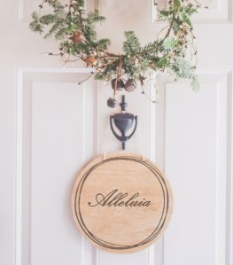 Alleluia-wreath